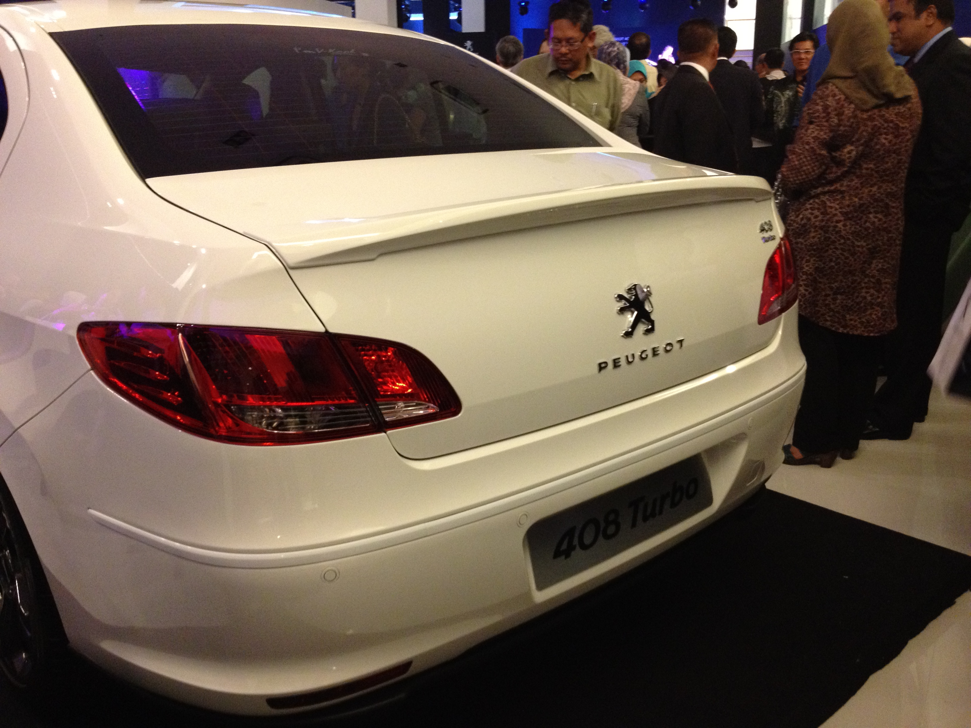 the peugeot 408 officially launched - rm109,888 for the 2.0 na