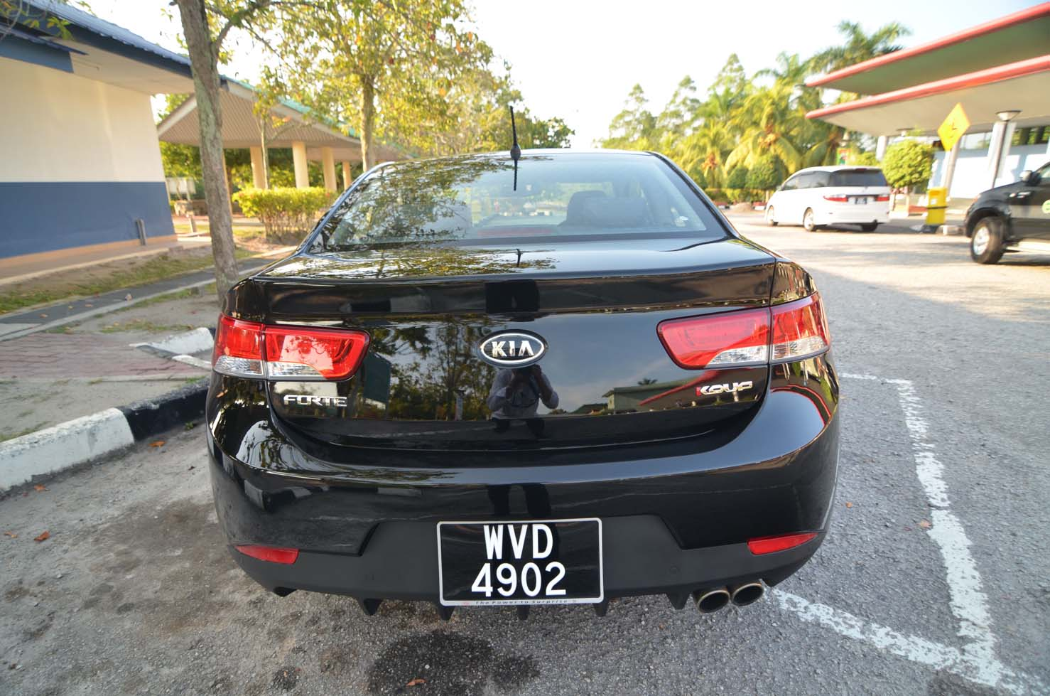The Kia Koup Most Affordable Coupe In Malaysia Kensomuse Forte Headlight At