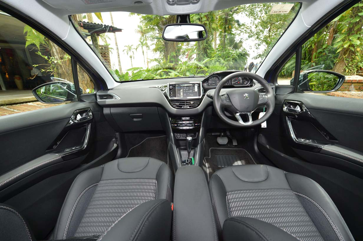 Peugeot 208 Malaysia Review 207 Fuse Box Problems Cabin Convenience