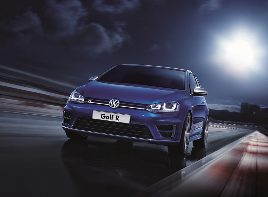 Golf R_Exterior, front