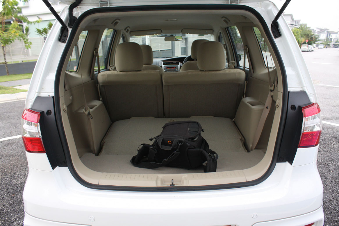 Trunk Space Nissan Livina Pictures to Pin on Pinterest ...