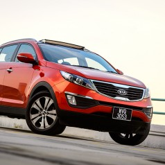 Kia Sportage – Riding on Impressive